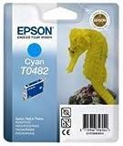 Epson Stylus Photo Printer Original Inkjet Print Cartridge T0482 - Cyan