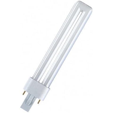 Osram - Lampada fluorescente compatta Dulux S 827 G23, luce