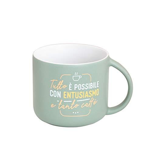 Tazza Mr. Wonderful - Tutto è possibile con entusiasmo e tanto caffè