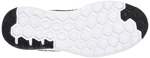 NIKE Chaussure de Running Flex Experience 4 Print (GS) pour Junior - Noir/Blanc - 38