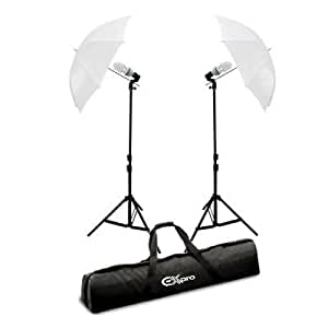 Ex-Pro Continuous Dual Photography Lighting Kit - White