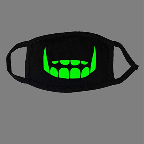 TIANMEI Masken Nette Anime Bär Maske Nacht Glow In Dark Halloween Maskerade Cosplay Zähne Schädel MaskenStil 32