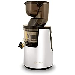 Nebula Grande Whole Fruit, Cold Press, Slow Juicer, presse à froid, presse à jus lente, 45RPM Garantie 5 ans