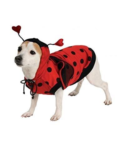 Horror-Shop Marienkäfer Kostüm für Hunde ()