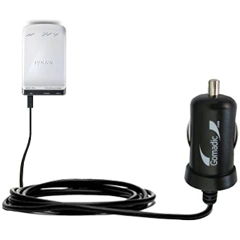 Caricabatterie DC Mini compatibile con Auto Avanzato Tenda 3G150M Portable Router 2 Amp (10W) Realizzato con la Tecnologia TipExchange