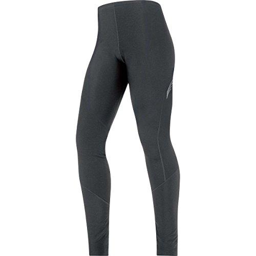 GORE BIKE WEAR Damen Lange Warme Thermo-Fahrradhose, GORE Selected Fabrics, LADY Thermo Tights, Größe: 42, Schwarz, TELTHL