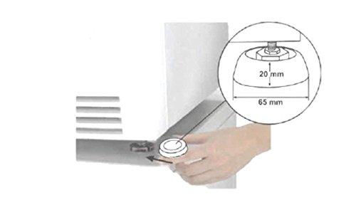 Schwingungsdämpfer 4 Stück (Silent Feet-anti-vibration)