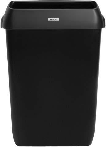 Katrin Abfalleimer, Deckel, 50 l, 420 x 280 x 575 mm, schwarz