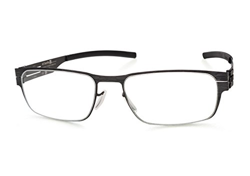 Ic!Berlin Eyewear Rast Black 51 Made in Germany 100% Authentic New