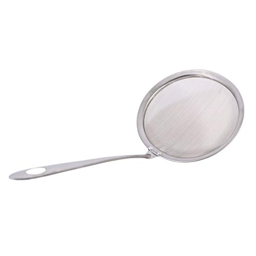 Filter Spoon - 1pc Stainless Steel Sieve Powder Flour Mesh Baking Pastry Scoop Sink - Strainers Colanders Strainers Blood Bath Sink Strainer Sieve Stainless Filter Pastry Spoon Mesh Siev Sco Scoop Colander