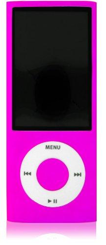 Apple iPOD Nano 5G - 2 Skins, Farbe: Neon Pink