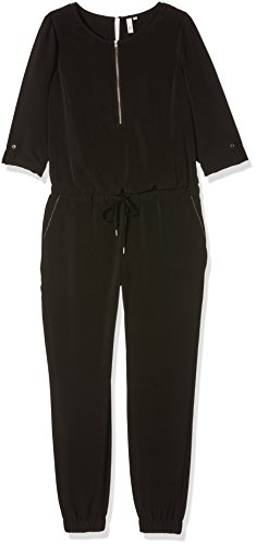 Q/S designed by - s.Oliver Damen Jumpsuits Overall Schwarz (Black 9999)