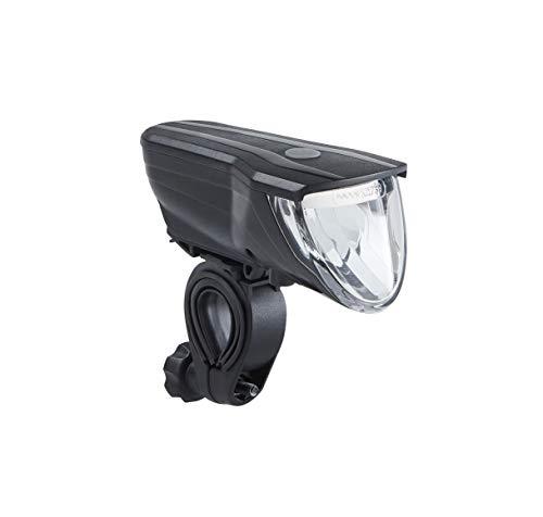 Büchel Vancouver Pro LED Akkufrontleuchte, 70 Lux, StVZO zugelassen, automatische Lichtsteuerung, schwarz, 51227504