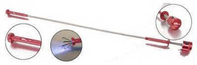 ULLMAN DEVICES CORPORATION LED Magnetic Pick-Up Tool, Flexible, 25-3/8-In.