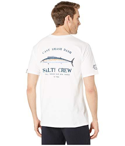 Salty Crew Herren T-Shirt Wahoo Mount Short Sleeve Tee - Weiß - Klein -