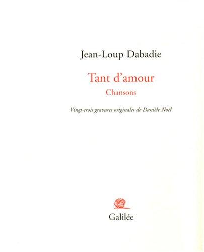 Tant d'amour : Chansons