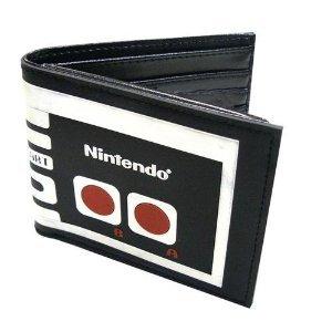 Nintendo - Billetera, diseño de mando Nintendo