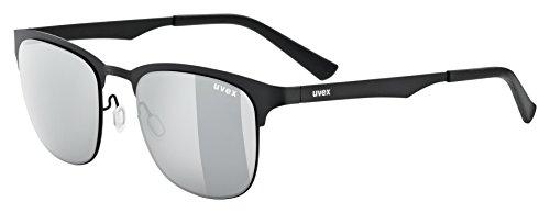 Uvex Erwachsene lgl 32 Sportbrille, Black, One Size
