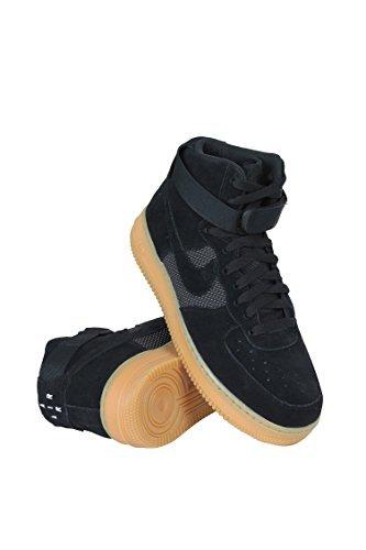 Nike Air Force One 1 High '07 LV8 Sneaker schwarz/braun, 48.5 EU (Braun Air Force 1)