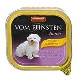 Animonda vom Feinsten Junior Geflügel & Putenherzen 150 g , Futter, Tierfutter, Nassfutter für Katzen