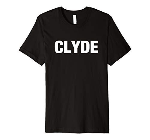 Bonny und Clyde t-shirt lustiges Kostüm für Halloween (Bonnie Und Clyde Kostüm Für Paare)