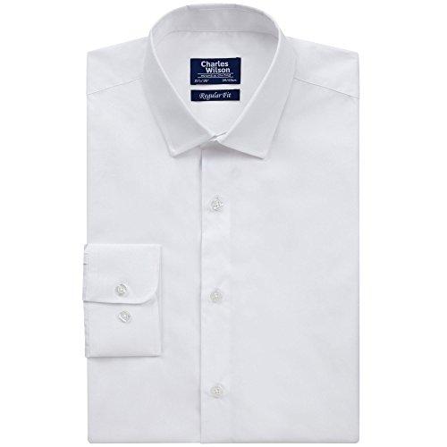 Charles Wilson Button Cuff Formal Shirt