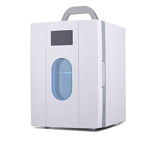 Dhrfyktu Elektroauto-Kühler und Wärmer 6-10L Tragbarer Elektroauto-Kühler/Wärmer für PKW, LKW, SUV, Wohnmobile und Anhänger mit Gleichstromantrieb (Farbe : White) -