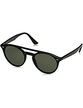 Ray-Ban 0Rb4279, Gafas de Sol Unisex-Adulto, Black, 52