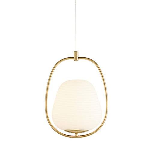 H&Y HY Pendelleuchten Moderne Wohnzimmer Schlafzimmer Minimalistischen Eisen Kronleuchter 220 V Kreative Glas Gold Hängende Deckenleuchte E27