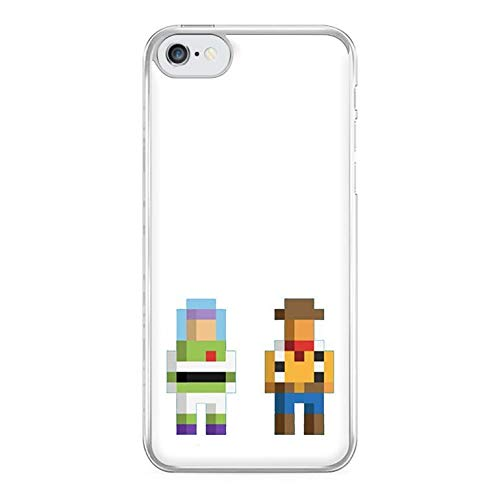 Fun Cases Buzz and Woody Pixels - Toy Story Phone Case - iPhone 5c Compatible