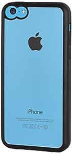 Muvit MUBMC0062  Coque pour iPhone 5C Blanc/Transparent