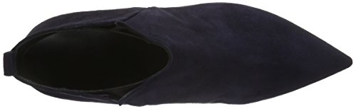 Oxitaly Damen Sandra 24 Chelsea Boots Blau (Navy)