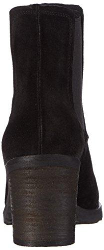 Giudecca Jy1503-1, Bottes Chelsea courtes, doublure froide femme Noir - Noir