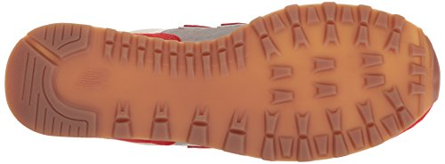 New Balance Herren Ml574 Sneakers Red/Silver Mink