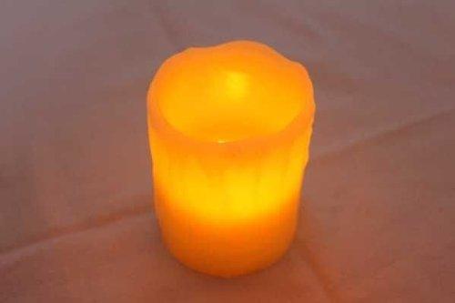 Pajoma vela con luz LED Reality, altura 10 cm 55196