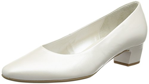 Gabor Shoes 05.160 Damen Pumps, Weiß (60 Off-White+Absatz), 40.5 EU