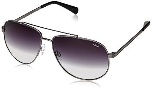 IDEE Aviator Sunglasses (IDS1909C2SG|61|Gunmetal ) image
