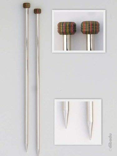 Knit Pro KP10207 Nova - Agujas tejer metálicas 6,0