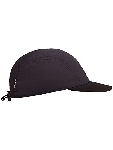 Stöhr Erwachsene Neopren Visor Cap Kappe, schwarz, One Size