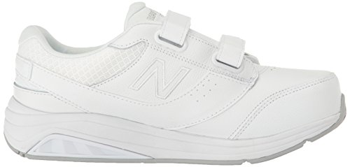 New Balance Ww928v3, Chaussures Multisport Indoor Femme White/White Hook/Loop