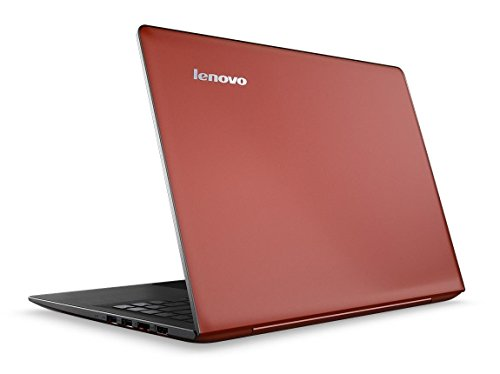 Lenovo IdeaPad 500S  13 3 inch  Notebook Core i3  6100U  2 3GHz 8GB 128GB SSD WLAN BT Webcam Windows 10 Home 64-bit  Intel HD Graphics  Red