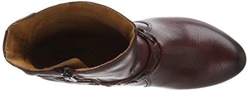 Pikolinos Verona 8576, Damen Kurzschaft Stiefel Rot (Garnet)
