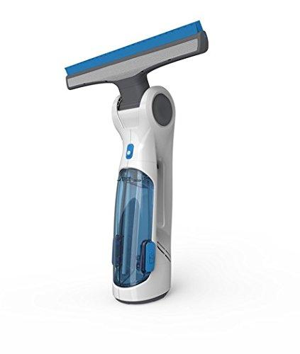 *Dirt Devil DD400 Fenstersauger Aquaclean (3,6 V DC Li-Ion Akku, 125 ml Behältervolumen) weiß/blau, 10 W*