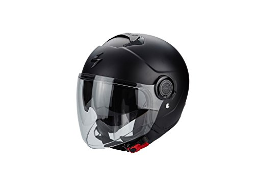 Scorpion Exo-City Motorradhelm, schwarz matt, Größe XXL