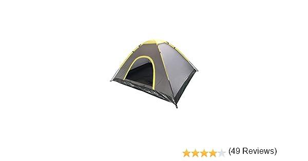 3 Places Tente l/ég/ère Double Peau Mountain Warehouse Tente Montage instantan/é avec Tapis de Sol Facile /à Monter r/ésistante /à leau pour Les Festivals