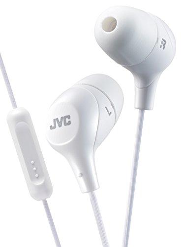 JVC ha-fx38mw Headset Binaural, kabelgebunden weiß-Kopfhörer (Binaural, Ohrhörer, Farbe Weiß, kabelgebunden, Griffbrett Multiple, 200mW) -