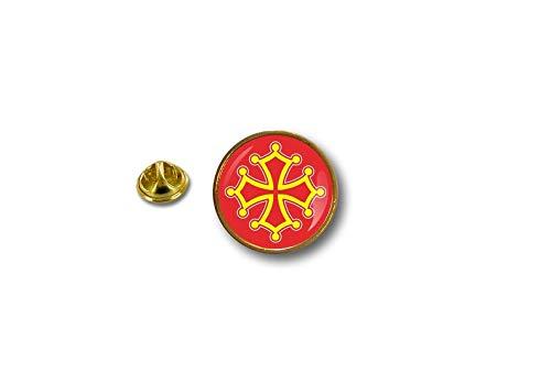 pin Button pins anstecker Anstecknade Flaggen Flagge okzitanische Sprache