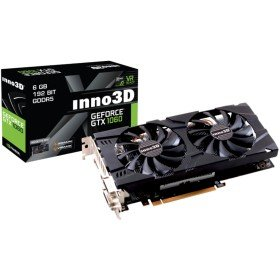 Inno3D N106F-5SDN-N5GS GeForce GTX 1060 6GB GDDR5 graphics card - Graphics Cards (GeForce GTX 1060, 6 GB, GDDR5, 192 bit, 7680 x 4320 pixels, PCI Express x16 3.0)