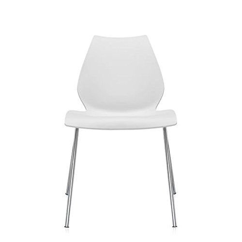 Maui Dining Chair in White by Kartell
