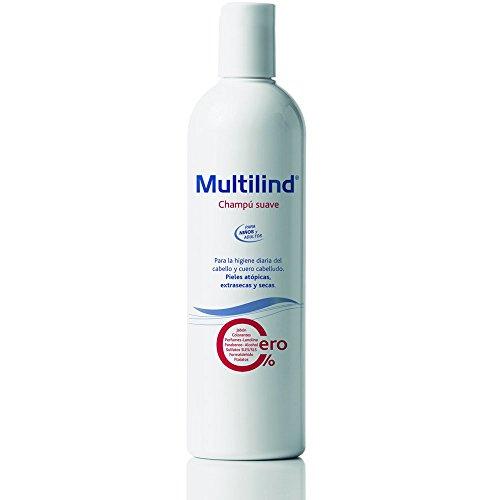 Multilind Champú Suave - 400 ml. Champú hipoalergénico para una higiene no agresiva del cabello y cuero cabelludo sensible